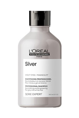 LOREAL Professionnel Expert Magnesium Silver Shampoo 300ml - šampon pro bílé a melírované vlasy