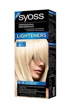 SYOSS Professional Intenzivní zesvětlovač Ultra Lightener 13-0 - zesvětlí vlasy až o 8 odstínů