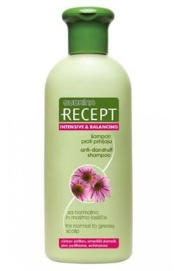 SUBRINA Recept Intensive - šampon proti lupům na normální a mastnou pokožku 400ml