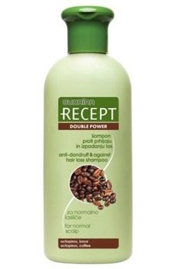 SUBRINA Recept Double Power - šampon proti lupům a proti padání vlasů 400ml