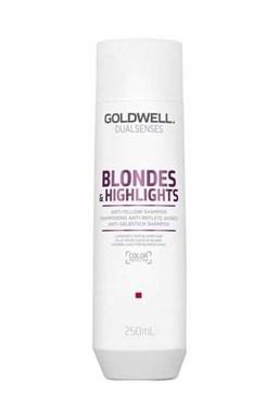 GOLDWELL Dualsenses Blondes And Highlights Shampoo 250ml - šampon pro bílou blond