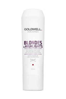 GOLDWELL Dualsenses Blondes And Highlights Conditioner 200ml - neutralizuje žluté odstíny