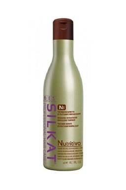 BES Silkat Nutritivo Shampoo N1 - šampon na velmi poškozené vlasy 1000ml