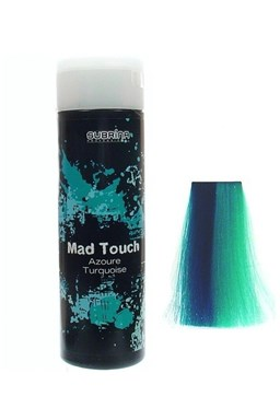 SUBRINA Mad Touch Azoure Tuquoise 200ml - Gelová barva na vlasy - tyrkysová