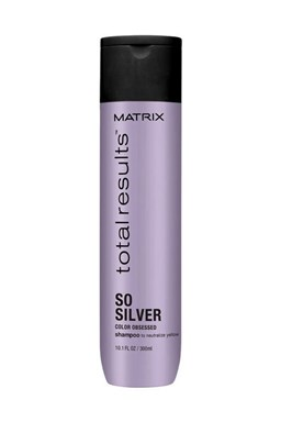 MATRIX Total Results So Silver Shampoo Color Obsessed 300ml - šampon pro blond a melírované vlasy