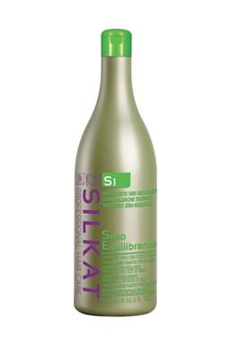 BES Silkat S1 Shampoo Seboequilibrante - šampon na mastné vlasy 1000ml