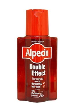 ALPECIN Double Effect Coffein Shampoo 200ml - šampon proti lupům a padání vlasů