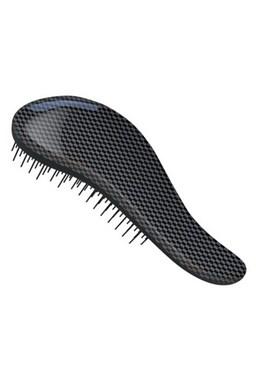 DTANGLER Rozčesávací kartáč na vlasy s rukojetí  - Black Point