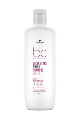 SCHWARZKOPF BC Color Freeze pH 4.5 Silver Shampoo 1000ml - stříbrný šampon na melír vlasy