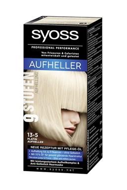 SYOSS Professional Platinový zesvětlovač Platinum Lightener 13-5 - zesvětlí vlasy až o 9 odstínů