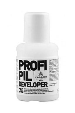 KALLOS Cosmetics Profi Pil Developer 3% 60ml - oxidant k barvám na obočí Kallos