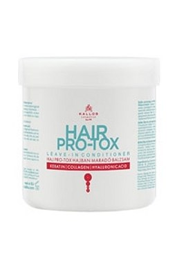 KALLOS KJMN Hair Pro-Tox Conditioner 250ml - balzám s kolagenem, keratinem a kys. hyaluronovou