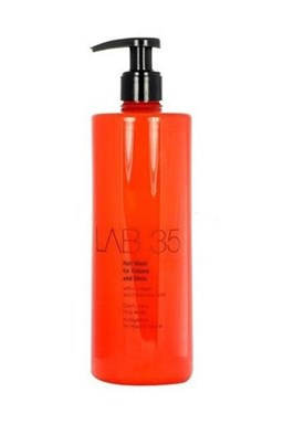 KALLOS Lab35 Hair Mask for Volume and Gloss 500ml - maska pro objem a lesk
