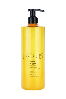 KALLOS Lab35 Shampoo for Volume and Gloss 500ml - šampon pro objem a lesk
