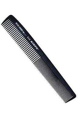 KIEPE Professional Active Carbon 515 - karbonový antistatický pánský hřeben na vlasy 181x28mm