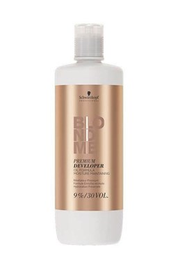 SCHWARZKOPF Blondme Premium Care Developer 9% (30vol) - krémový peroxid 1000ml