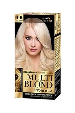 JOANNA Multi Blond Intenziv - intenzivní zesvětlovač na vlasy s keratinem - zesvětlení 4-5 odstínů