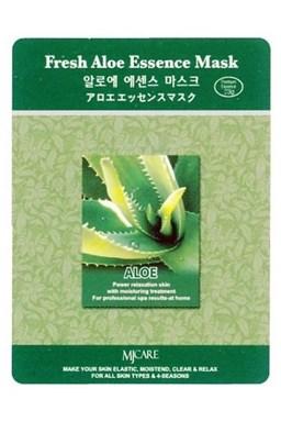 MJ CARE Fresh Aloe Pleťová maska s Aloe - uzdravuje, ochlazuje a zjemňuje pokožku