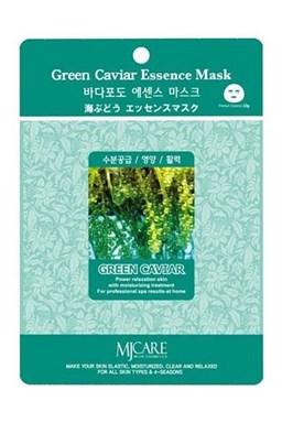 MJ CARE Green Caviar Zelený kaviár - luxusní bavlněná pleťová maska proti vráskám