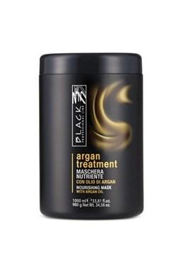 BLACK Argan Treatment Maschera 1000ml - arganová regenerační maska na poškozené vlasy