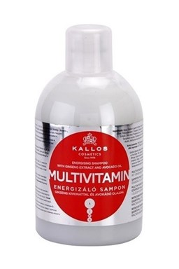 KALLOS KJMN Multivitamin Shampoo 1000ml - posilující šampon na suché vlasy