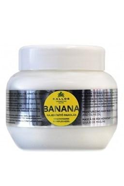 KALLOS KJMN Banana Hair Mask 275ml - maska na suché vlasy s multivitamíny
