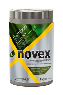 NOVEX Bamboo Shoot Deep Treatment Conditioner 1000g - hydratační kúra na suché vlasy