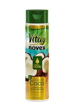 NOVEX Coconut Oil Vitay Shampoo 300ml - šampon na suché vlasy s kokosovým olejem