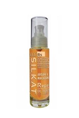 BES Silkat R5 Repair Oil Therapy 50ml - opravný olej na rozdvojené konečky