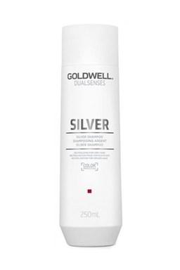 GOLDWELL Dualsenses Silver Shampoo 250ml - šampon proti žlutým tónům blond vlasů