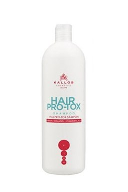 KALLOS KJMN Hair Pro-Tox Shampoo 500ml - šampon s keratinem a a kyselinou Hyaluronovou