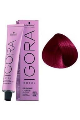 SCHWARZKOPF Igora Fashion L89 barevný melír na vlasy 60ml - Fialová červená
