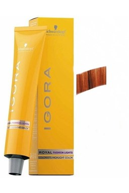SCHWARZKOPF Igora Fashion L-77 barevný melír na vlasy 60ml - Měděná