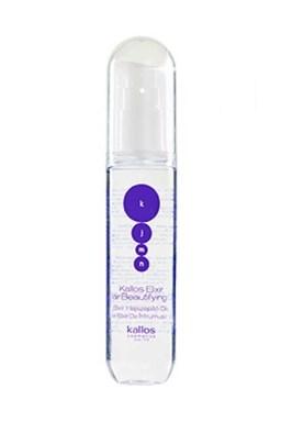 KALLOS KJMN Elixir Hair Beautifying Oil 50ml - vyživující vlasový olej proti třepení vlasů