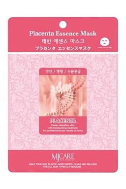 MJ CARE Placenta Pleťová maska pro všechny typy pleti, zejména suchou a matnou