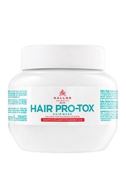 KALLOS KJMN Hair Pro-Tox Mask 275ml - vl. maska s keratinem a kyselinou hyaluronovou