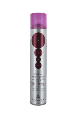 KALLOS KJMN Hair Spray Extra Strong 500ml - velmi silně tužící lak na vlasy