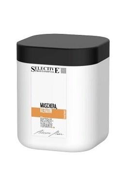 SELECTIVE Professional Maschera Keratin Ristrutturante 1000ml - keratinová maska na vlasy