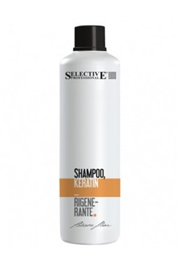 SELECTIVE Professional Shampoo Keratin Rigenerante 1l - keratinový šampon na vlasy
