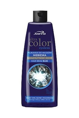JOANNA Ultra Color BLUE Hair Rinse 150ml - tónovací vlasová voda (přeliv) - modrá