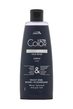 JOANNA Ultra Color SILVER Hair Rinse 150ml - tónovací vlasová voda (přeliv) - stříbrná