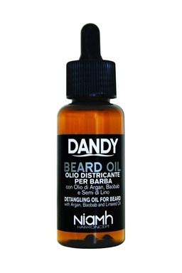 DANDY Beard Oil 70ml - Olej na bradku a vousy s arganovým olejem