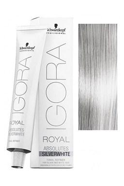Schwarzkopf Igora Royal Silver Whites 60ml - barva pro stříbrné a bílé vlasy - Silver