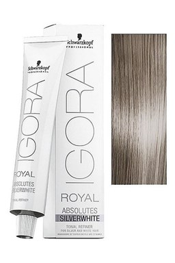 Schwarzkopf Igora Royal Silver Whites 60ml - barva pro stříbrné a bílé vlasy - Dove Grey