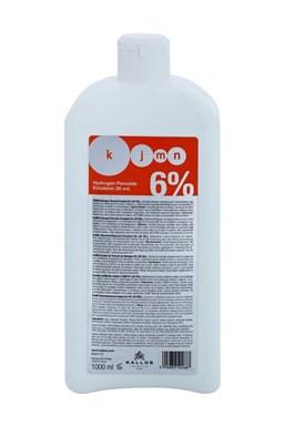 KALLOS KJMN 6% (20vol) Hydrogen Peroxide Emulsion - krémový peroxid vodíků 1000ml