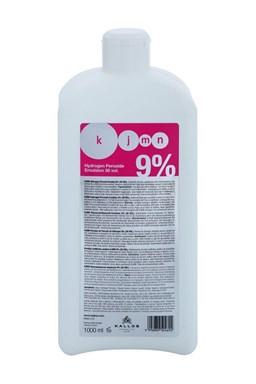 KALLOS KJMN 9% (30vol) Hydrogen Peroxide Emulsion - krémový peroxid vodíků 1000ml