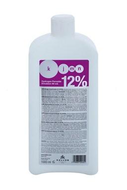 KALLOS KJMN 12% (40vol) Hydrogen Peroxide Emulsion - krémový peroxid vodíků 1000ml