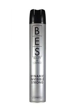 BES Hair Fashion Dynamic Invisible Strong 500ml - lak na vlasy pro větší objem