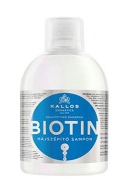KALLOS KJMN Biotin Shampoo 1000ml - šampon pro tenké, slabé a lámavé vlasy