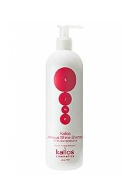 KALLOS KJMN Luminous Shine Shampoo 500ml - šampon pro suché a citlivé vlasy